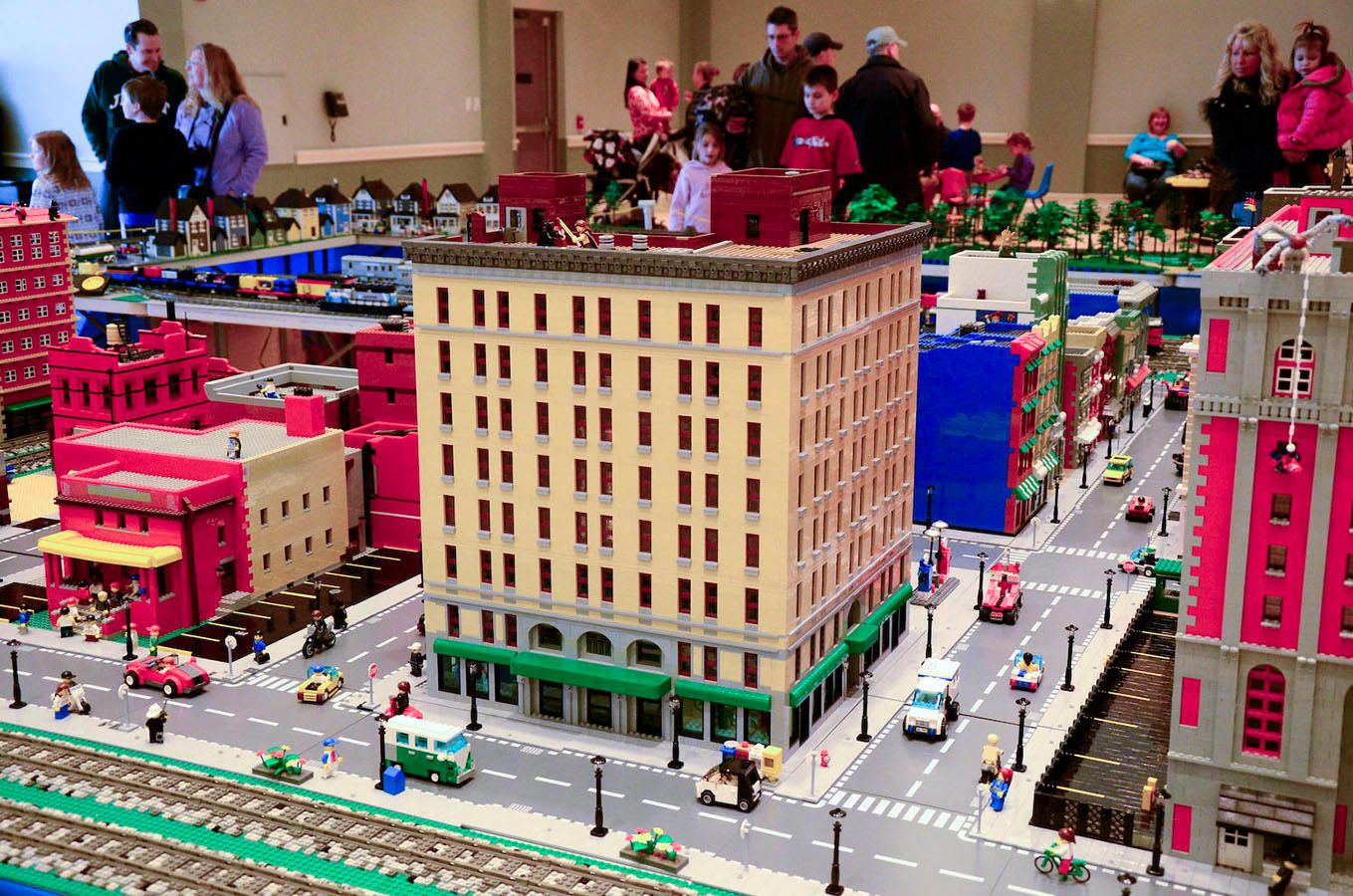 lego brick big city build