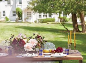 garden party by Sidney Bensimon